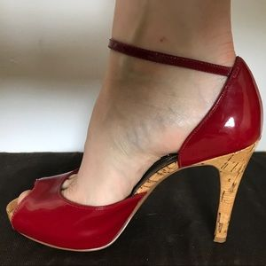 Guess Cherry Red Heel